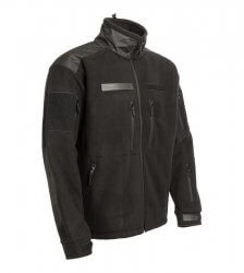 Gurkha Tactical jacheta polar fleece - negru