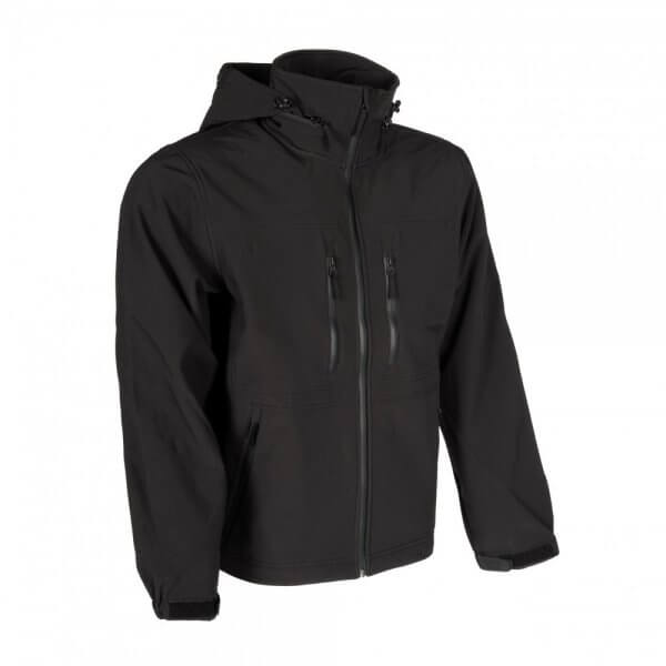 Gurkha Tactical jacheta Outdoor softshell - negru