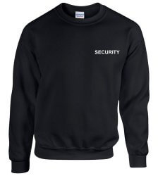 Security pulover - negru